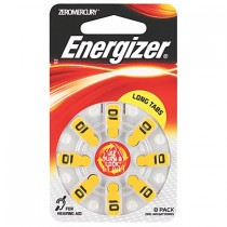 ENERGIZER HEARING AID BATTERIES AZ10 8 PACK