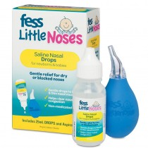 FESS LITTLE NOSES 25ML DROPS + ASPIRATOR