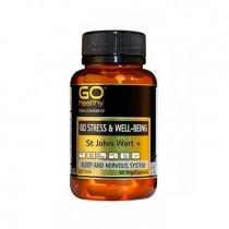 GO Healthy GO STRESS & WELL-BEING St Johns Wort+60 VegeCaps