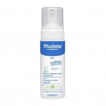 MUSTELA NEWBORN FOAMING SHAMPOO 150ML PUMP