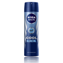 NIVEA MEN DEODORANT AEROSOL COOL 250ML 48HR