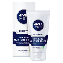 NIVEA MEN SENSITIVE FACE CARE MOISTURISING CREAM 75ML