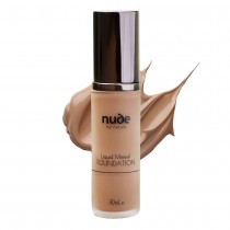Nude by Nature Liquid Mineral Foundation Dark 30ml