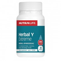NUTRALIFE HERBAL Y EXTREME 30 TABLETS FOR MEN