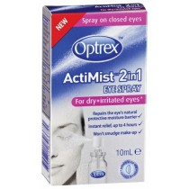 OPTREX ACTIMIST 2Iin FOR DRY & IRRITATED EYES 10ml EYE SPRAY