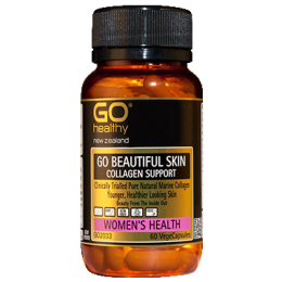 GO HEALTHY GO BEAUTIFUL SKIN COLLAGEN SUPPORT 120 CAPSULES