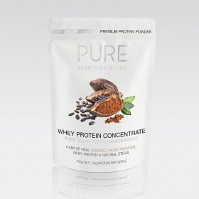 PURE WHEY PROTEIN ORGANIC CACAO 750G