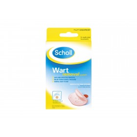 SCHOLL WART REMOVAL SYSTEM WATERPROOF 15 PACK