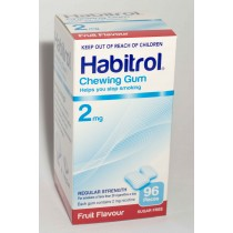 HABITROL GUM FRUIT 2MG 96 pieces