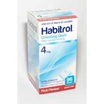 HABITROL GUM FRUIT 4MG 96 pieces