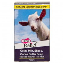 HOPE'S RELIEF GOATS MILK SOAP 125GM