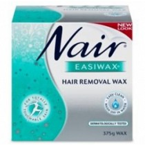 NAIR EASIWAX 375GM + STRIPS